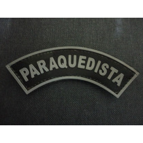 Distintivo Emborrachado Paraquedista De Braço
