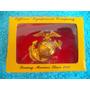Emblema De Quepe U. S. M. C. Metálico - Guerra Vietnam (b)