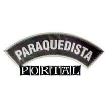 Distintivo Breve Insignea Emborrachado Paraquedista