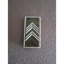 Distintivo Emborrachado De Gola Primeiro Sargento - Eb