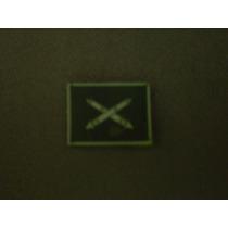 Distintivo Emborrachado De Gola Material Bélico - Eb