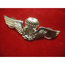 Breve De Paraquedista Do Exército Brasileiro - Em Metal -