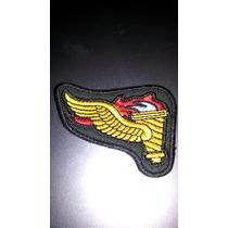 Distintivo Bordado Antigo Precursor Paraquedista
