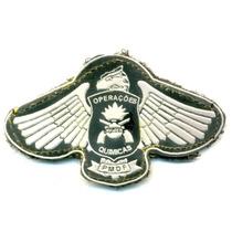Operações Químicas - Pmdf - Distintivo Emborrachado Militar