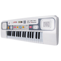 Teclado Infantil Musical 37 Teclas C/ Microfone - Mq-3709a