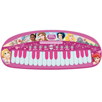 Teclado Infantil Musical Princesas Disney 1173 - Yellow