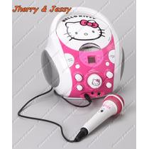 Hello Kitty Portátil Máquina De Karaoke Hello Kitty