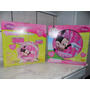 Bateria Acustica Minnie Disney Yellow Com Luzes De Led Novo