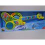Instrumento Musical Guitarra Infantil Os Smurfs Colorida Cks