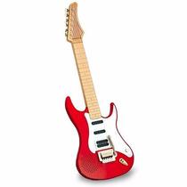 Guitarra Eletrônica Infantil Dtc - Vermelha