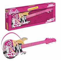 Guitarra Infantil Luxo Barbie 72162 - Fun Toys