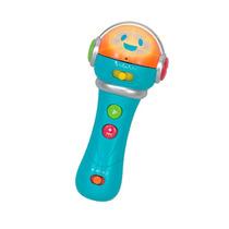 Microfone Band Mini Star Altera Grava A Voz 1359 Bee Me Toys