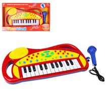 Teclado Piano Eletrônico Infantil Musical Frete Gratis