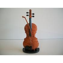 Mini Instrumentos Musicais Violino Com 8 Músicas 28 Cms.