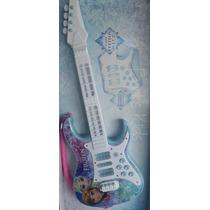 Guitarra Infantil Eletrônica Frozen Disney