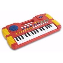 Teclado Piano Musical Infantil Sons Eletronico 32 Teclas