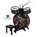 Bateria Musical Infantil - Transformers - Frete Grátis