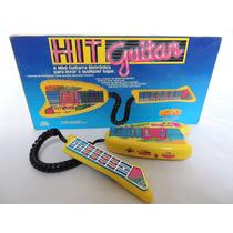 Mini Guitarra Eletrônica - Tec Toy- Anos 90 - Novo - Sem Uso