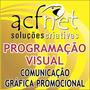Comunicação Gráfica Promocional - Programação Visual