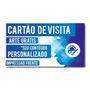 Cartão De Visita - Verniz Total, Só Frente - Couchê 250gr