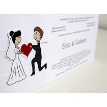 Convite Casamento, Encontro Dos Noivos - Promoção