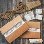 25 Convites De Casamento Rústico Reciclado Envelope Em Kraft