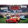 Convite Personalizado Com Foto Carros Disney