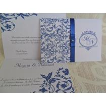 Lindo Convite De Casamento Ótimo Preço (10un)