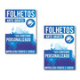 10.000 - Folheto - Panfleto - 10x14cm - 90gr - Frente Verso