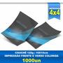 Panfleto - 10x15cm - Papel Tradicional - Couchê 120 - 1000un