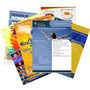 2500 Panfletos 80g 10x14cm Colorido 4x4 Folhetos Folders