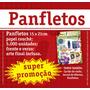 Panfleto 15x21 Cm - Frente Verso - Couche 70g - 5.000 Und.