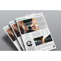 500 Mod Flyers, Panfletos, Negócios, Escola, Empresas, Psd