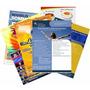 2500 Panfletos 80g 14x20cm Colorido 4x4 Folhetos Folders