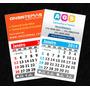 100 Imã Geladeira Calendário 2014 Personalizado P/ Empresas