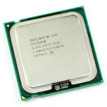 Processador 775p Intel Celeron 430, 1.8ghz,800mhz Sl9xn