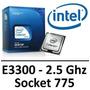 Processador Lga 775 Dual Core E3300 2,50ghz 1m 800 Frete Fre