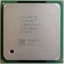 Processador Intel® Celeron D340 2.8ghz/256/533mhz Socket 478