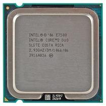 Processador Lga 775 Intel Core 2 Duo E7500 2,93ghz/3m/1066