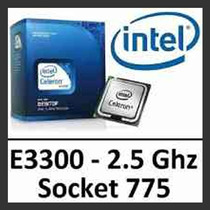 Processador Intel 775 Dual Core E3300 2.50ghz - Garantia