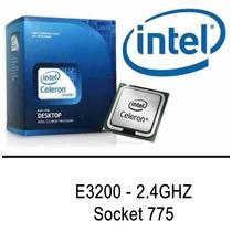 Processador Intel 775 Dual Core E3200 2.40ghz - Garantia
