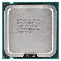 Processador Core 2 Duo E7500 2.93 Ghz + Cooler 775