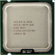 Proc Intel Core2quad Q9550 2.83/12mb/1333/45nm > Bate Até