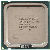Processador 775 Dual Core E2200 2.2ghz Excelente Estado