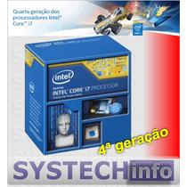 Processador Intel I7-4790k 5ªgeração 1150 4.0ghz 8mb 4790k