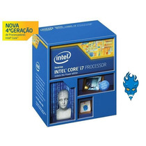 Processador Intel Core I7 4790k 4.0ghz (turbo 4.4ghz) Box