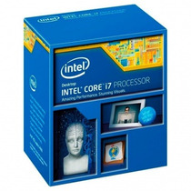 Processador Intel Core I7-4790 Novo Na Caixa 12x Sem Juros