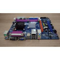 Placa Mãe Phitronics Com Processador Pcm8e + 2 Gb Memoria