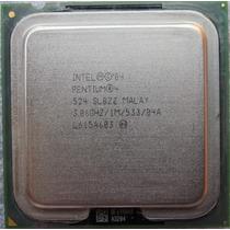 Processador Intel Pentium 4 - 3,06ghz/1mb/533 - Usado Ok