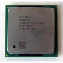 Pentium 4 2.66ghz Ou 2.4ghz 512kb Caxe 533mhz Sem Cooler 478